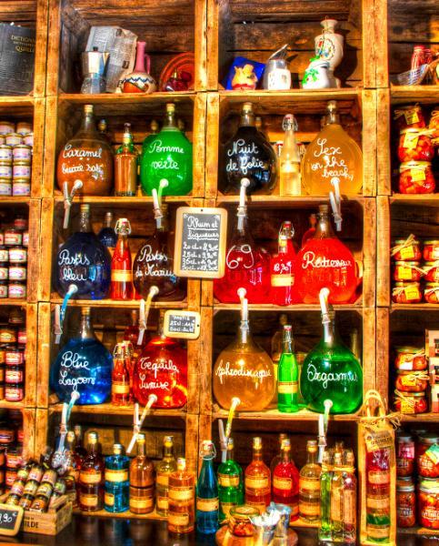 Rum and Liqueurs