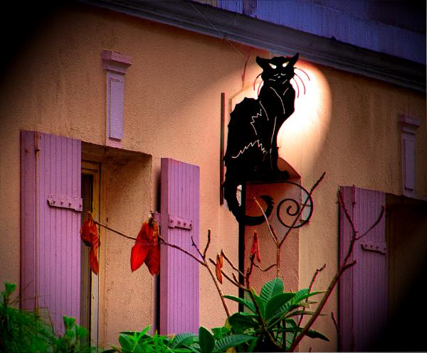 Le Chat Noir — French for The Black Cat — was a famous cabaret